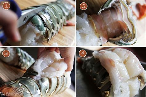 roasted lobster tails with coconut curry dipping sauce