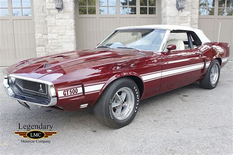 Shelby Cobra Jet by 1969 Shelby Gt500 Scj Convertible Extremely And