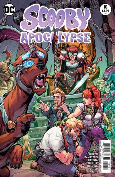 Dc Comics Scooby Apocalypse 18 December 2017 scooby apocalypse volume comic vine