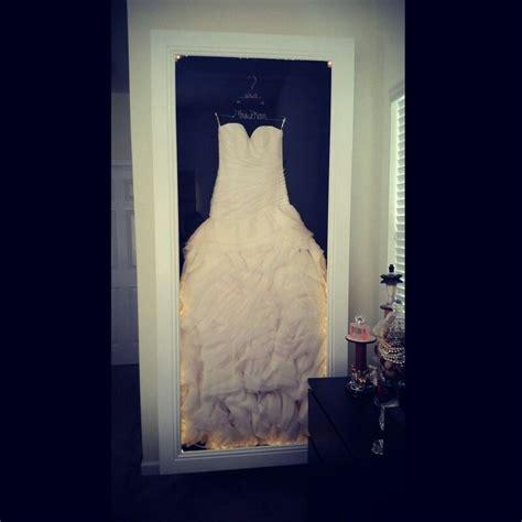 hochzeitskleid box diy wedding dress preserving shadow box diy