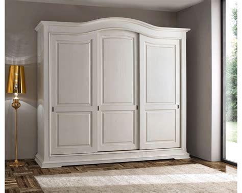 armadio ante scorrevoli legno bellissimo armadio 3 ante scorrevoli legno massello