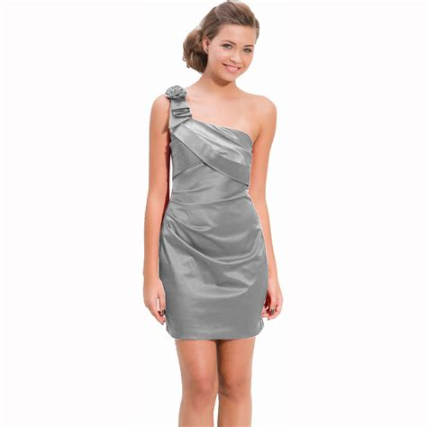 one shoulder draped cocktail dress draped satin one shoulder formal cocktail evening dress