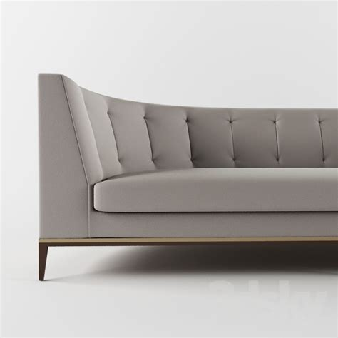 round back sofa 3d models sofa capitone sofa with round back