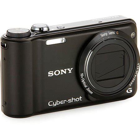 sony cyber shot h55 black 14mp digital camera, 10x optical