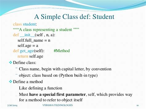 python tutorial classes objects basics of object oriented programming in python