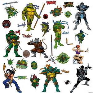 Teenage Mutant Ninja Turtles Names And Colors » Home Design 2017
