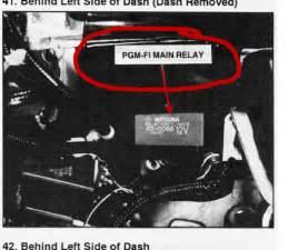1993 honda accord lx relay the cruise box