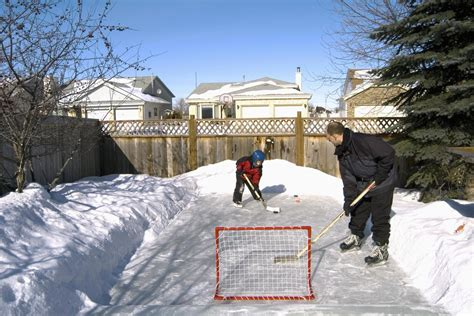 how to build a backyard ice rink how to build a backyard ice skating rink