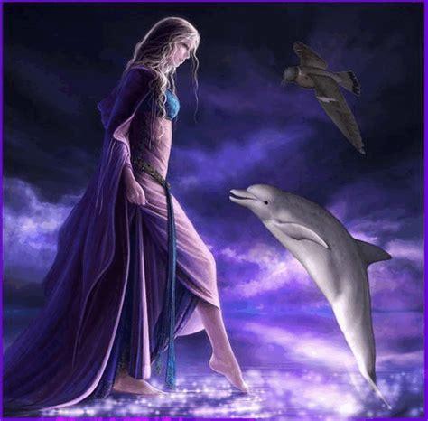 imagenes de amor animadas de delfines hada y delfin