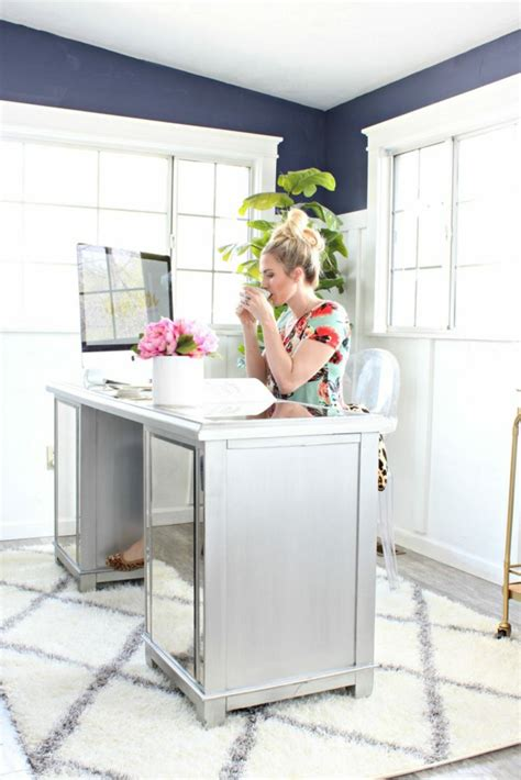 grauer schreibtisch 1001 ideen zum thema arbeitszimmer einrichten