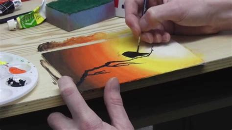 easy acrylic painting ideas for beginners tutorial beginners acrylic painting tutorial bird qtiny