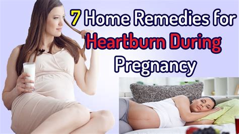 home remedies for heartburn during pregnancy home
