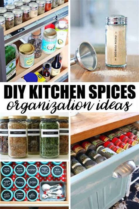 kitchen spice organization ideas 20 creative diy kitchen spices organization ideas simply
