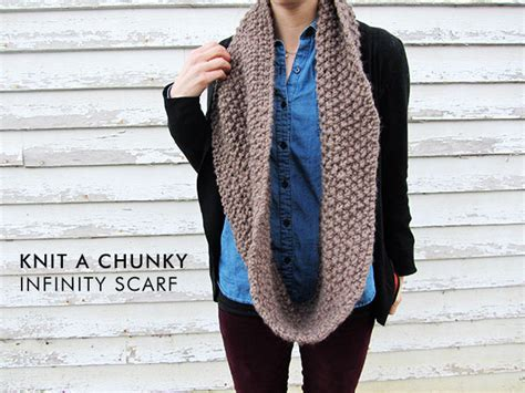 how to knit chunky infinity scarf how to knit a chunky infinity scarf stuff steph does