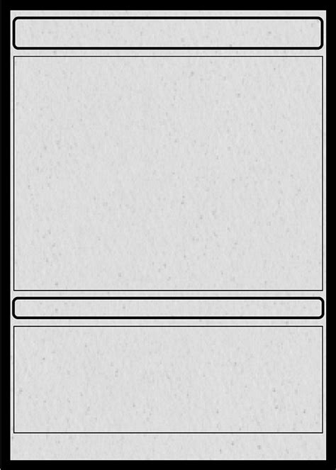 trading card template docs magic trading card template ygo best free home