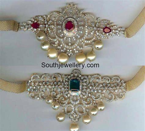 Tiara 2in1 bajubandh jewelry designs jewellery designs
