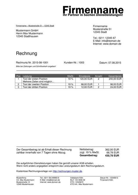 Freiberufler Rechnung Mit Mehrwertsteuer Vorlage Rechnung Excel Kostenlos Rechnung Excel Rechnung Kostenlos Rechnungsvorlag Excel Vorlage