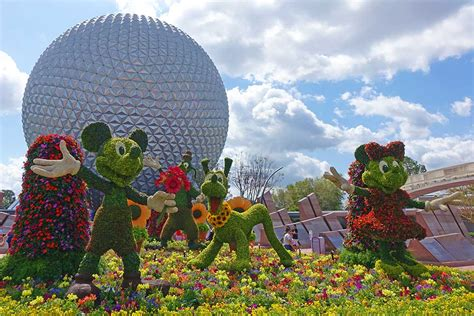 guide to epcot flower and garden 2019