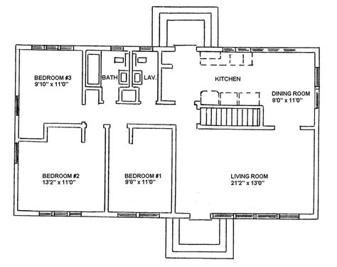 Ranch Floor Plans With Basement by Ranch Style House Plans Ranch Style Floor Plans And
