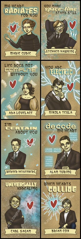 science valentines cards science valentines mini cards printable pdf files