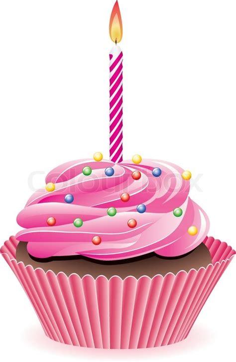 vector cupcake  sprinkles  stock vector colourbox