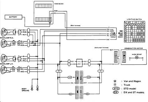 nissan king cab trucks wiring diagrams wiring diagram