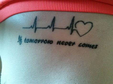 true love tattoo garth my quot if tomorrow never comes quot garth brooks tattoo my