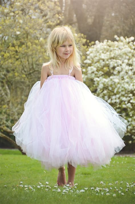 Dress Tutu Girly pink and white tutu dress made in the u k by dainty
