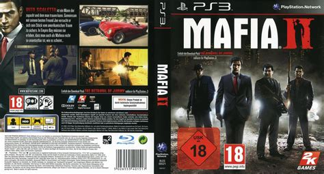 Mafia Ii Ps3 Cd image gallery mafia 2 cover