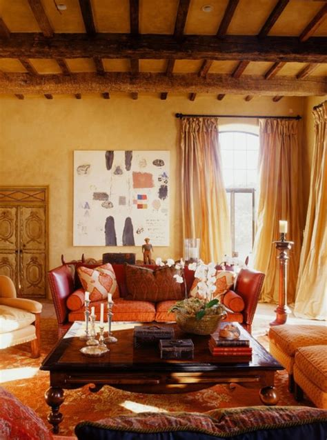 Orange Rug Living Room by Orange Rugs Bring Fall Colors And Chic Look To Interiors