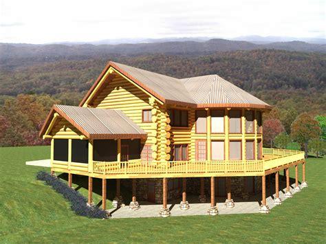 tennessee 4329 sq ft log home kit log cabin kit