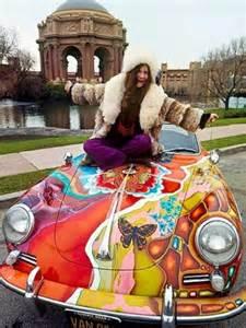 janis joplins psychedelic porsche   auctioned   york abc news australian