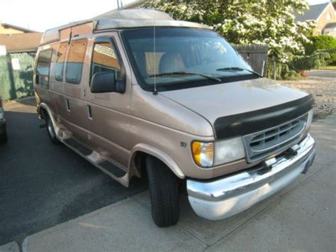 how make cars 1997 ford econoline e150 head up display purchase used 1997 ford e150 hi top van wheelchair lift triton v8 engine in east meadow new