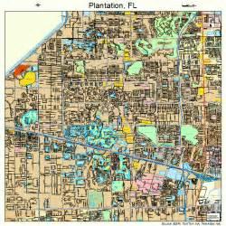 plantation florida map 1257425