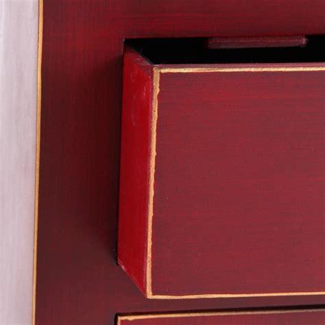 comodini cinesi comodino cinese cera rosso comodini stile giapponese