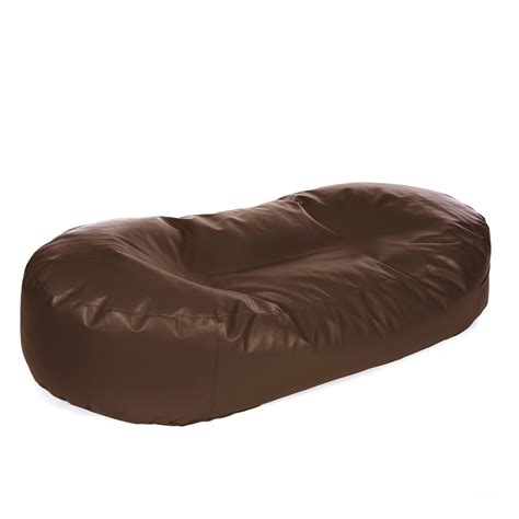faux leather sofa bed bean bag