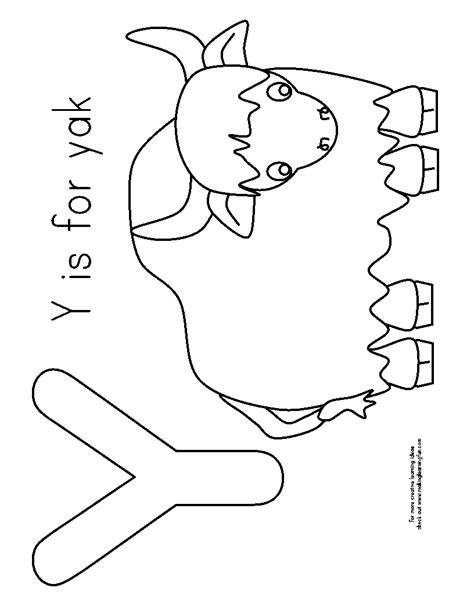 free coloring pages yak yak free coloring pages
