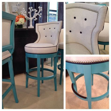 A sophisticated bar stool? These fabulous bar stools from