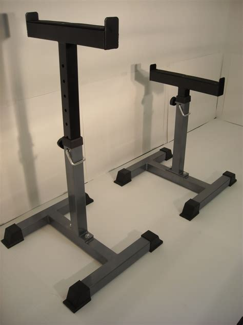 bench safety stands safety stands trap shrug bar bench side racks for support