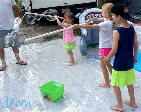 backyard bubble summer fun with diy backyard bubbles the teletubbies