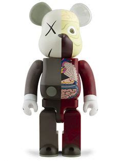 400 Brown Bea Rbrick bearbrick on fred perry 60th anniversary and toys
