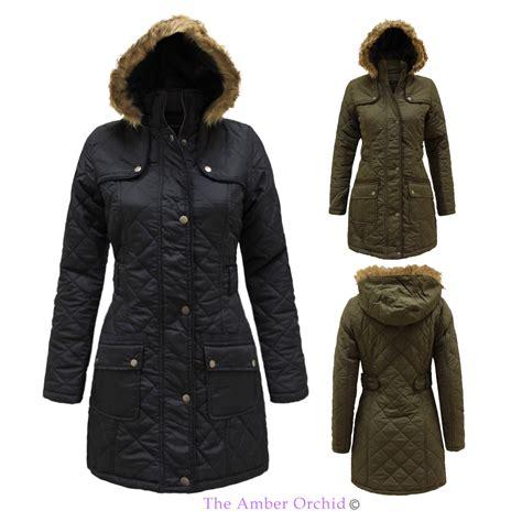Jaket Parka Original Parka Cewe Best Seller womens brave soul fur hooded quilted parka