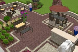 Free Patio Design Software by Brick Patio Layouts Patterns