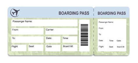 boarding pass template stock photos 26 images