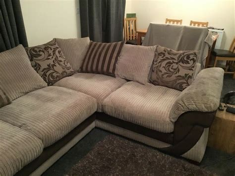 Snuggle Corner Sofa by Dfs Corner Sofa Cuddle Chair And Footstool In Norwich