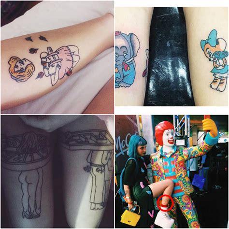 dream photographer as tatuagens da melanie martinez