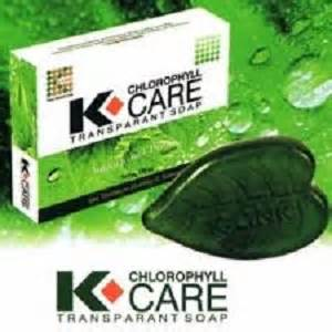 Sabun Klorofil transparant soap k chlorophyll care pemutih surabaya