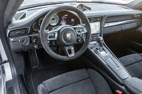 porsche 911 carrera gts interior 2017 porsche 911 carrera gts first impression digital trends