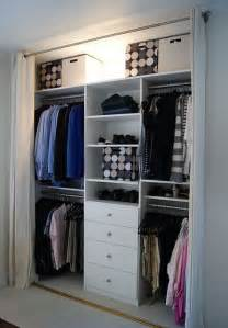 closet bedroom i would do this but put the drawers and shelves at each