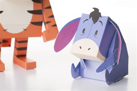 Paper Toys - eeyore momot world
